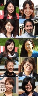 留学女性10人のストーリー