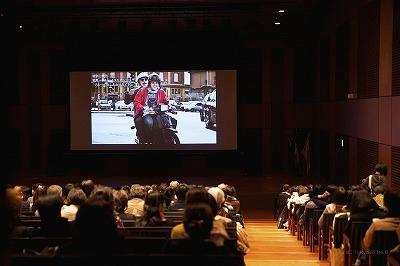 イタリア映画上映会会場